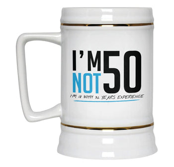 I'm Not 50 - Beer Stein - [variant_title]