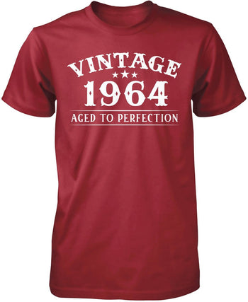 Vintage (Your Birth Year) - Personalized T-Shirt - Premium T-Shirt / Cardinal / S