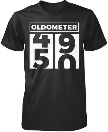 Oldometer - Turning 50 T-Shirt