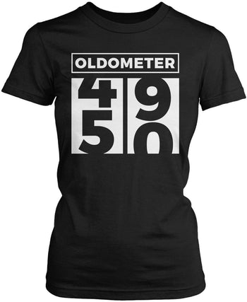 Oldometer - Turning 50 Women's Fit T-Shirt
