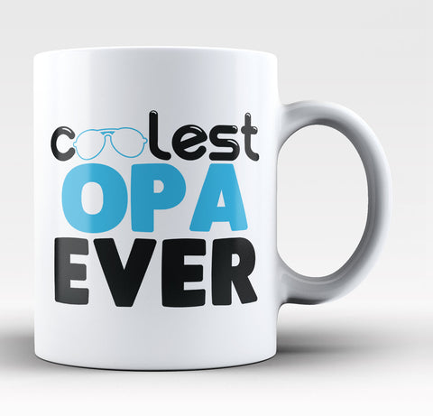 Coolest Opa Ever Coffee Mug
