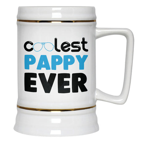 Coolest Pappy Ever - Beer Stein