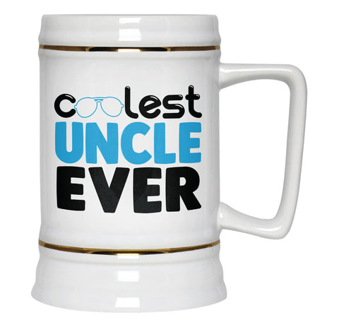 Coolest Uncle Ever - Beer Stein