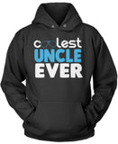 Coolest Uncle Ever Pullover Hoodie Sweatshirt