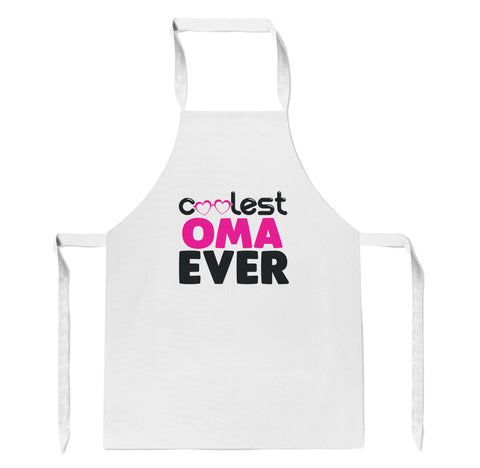 Coolest Oma Ever - Apron