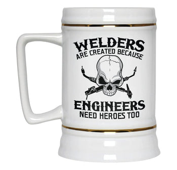 Welders - An Engineers Hero - Beer Stein - [variant_title]