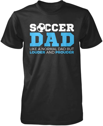 Loud and Proud Soccer (Nickname) Personalized T-Shirt