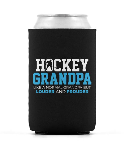 Loud and Proud Hockey Grandpa - Can Cooler