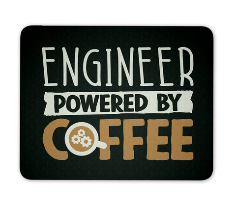 Engineer Powered By Coffee - Mouse Pad