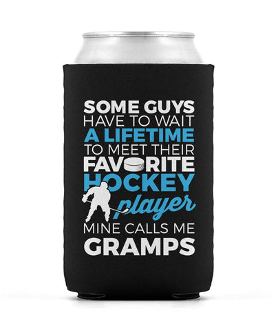 Favorite Hockey Player - Mine Calls Me Gramps - Can Cooler