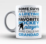 Favorite Hockey Player - Mine Calls Me Grandad - Mug