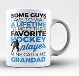 Favorite Hockey Player - Mine Calls Me Grandad - Coffee Mug / Tea Cup