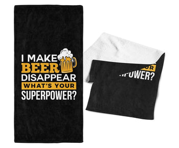 I Make Beer Disappear - Bar Towel - Towels