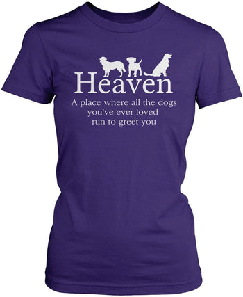 Dog Lovers Heaven - T-Shirts