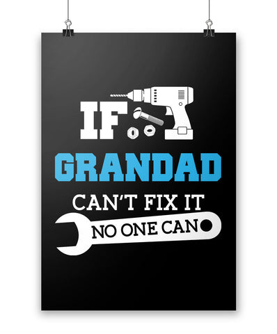If Grandad Can't Fix It No One Can - Poster