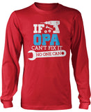 If Opa Can't Fix It No One Can Longsleeve T-Shirt