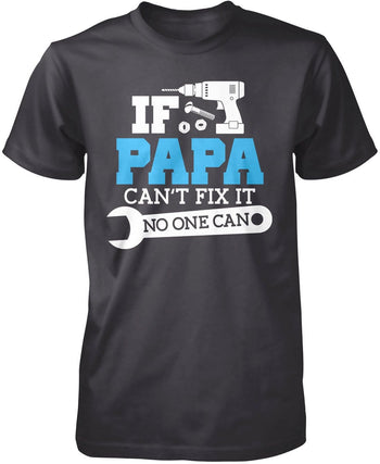 If (Nickname) Can't Fix It No One Can - T-Shirt - Premium T-Shirt / Dark Heather / S