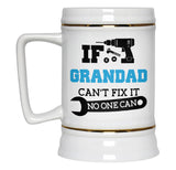 If Grandad Can't Fix It No One Can - Beer Stein