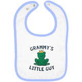 Grammy's Little Guy - Embroidered Infant Bib