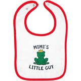 Mimi's Little Guy - Embroidered Infant Bib