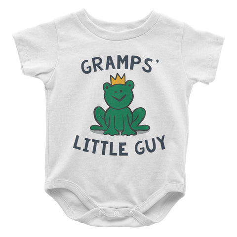 Gramps's Little Guy - Baby Onesie