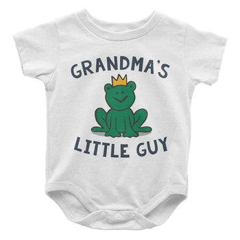 (Nickname)'s Little Guy - Baby Bodysuit - Baby Apparel