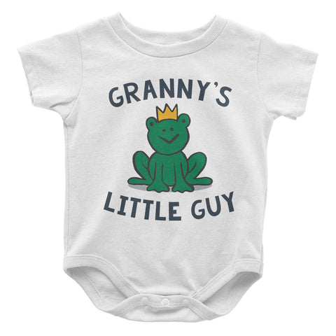 Granny's Little Guy - Baby Onesie