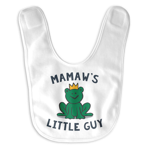 Mamaw's Little Guy - Baby Bib