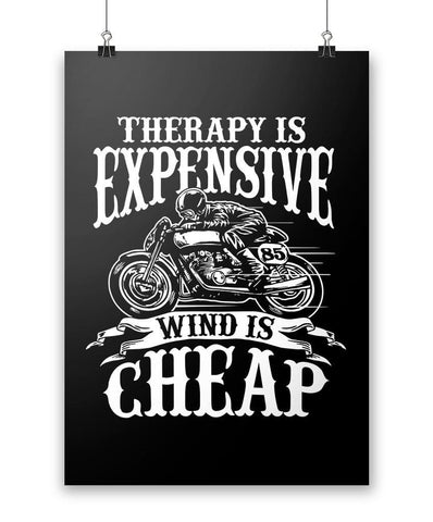 Therapy Is Expensive, Wind Is Cheap - Poster