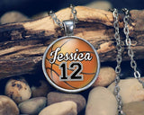 Customizable Basketball Pendant Necklace - Necklaces