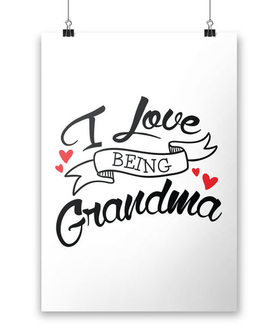 I Love Being Grandma - Poster