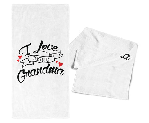 I Love Being (Nickname) - Kitchen Towel - Towels