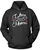 I Love Being Mamaw Pullover Hoodie Sweatshirt