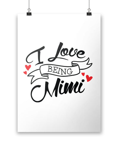 I Love Being Mimi - Poster