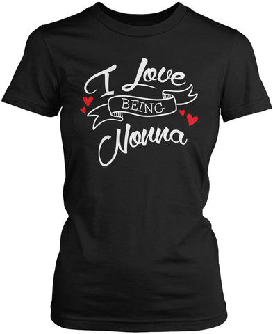 I Love Being Nonna Women's Fit T-Shirt