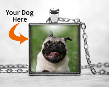 Customizable Pendant Necklace with Your Dog - Necklaces