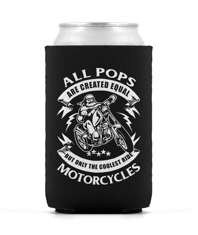Only the Coolest Pops Ride Motorcycles - Can Cooler