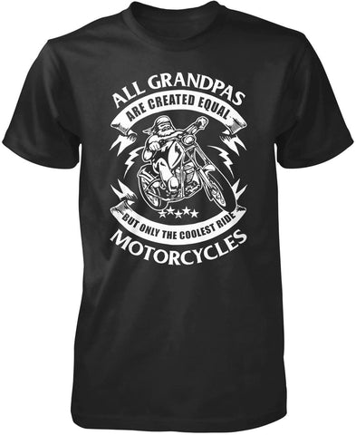Only The Coolest (Nickname)s Ride Motorcycles - T-Shirt - Premium T-Shirt / Black / S