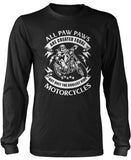 Only the Coolest Paw Paws Ride Motorcycles Longsleeve T-Shirt