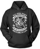 Only the Coolest Paw Paws Ride Motorcycles Pullover Hoodie Sweatshirt
