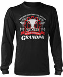 This Grandpa Loves Racing Long Sleeve T-Shirt