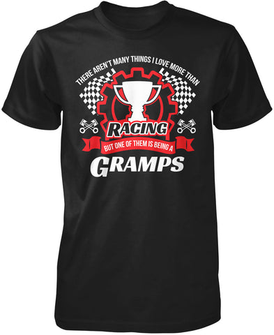 This Gramps Loves Racing T-Shirt