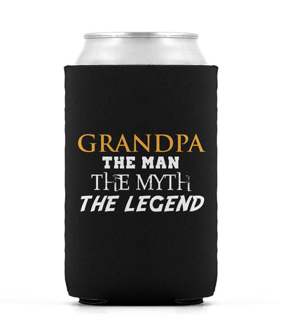 Grandpa The Man Myth Legend Can Cooler