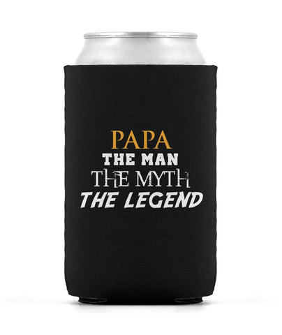 Papa The Man Myth Legend Can Cooler