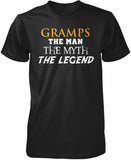 Gramps The Man Myth Legend T-Shirt
