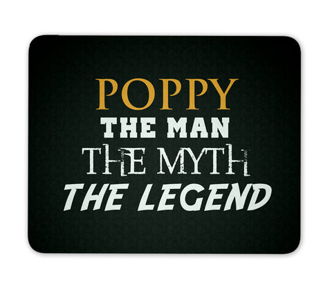 Poppy The Man Myth Legend - Mouse Pad