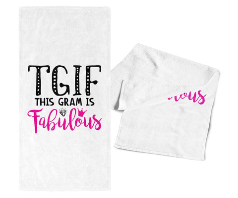 This Gram Is Fabulous - Gym / Kitchen Towel