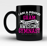 Proud Gram of An Awesome Gymnast - Mug