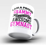 Proud Grammy of An Awesome Gymnast - Mug