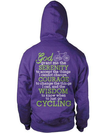 Cycling Serenity - T-Shirts